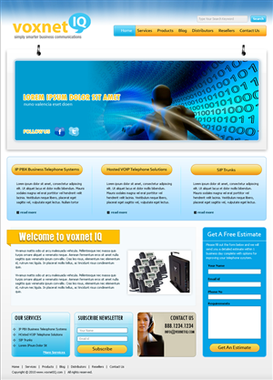 Voip Website Design 122619