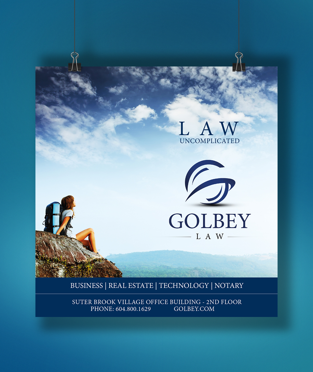 Poster design company - Poster Design By Redone22 For Small Law Firm Poster Design 3850315