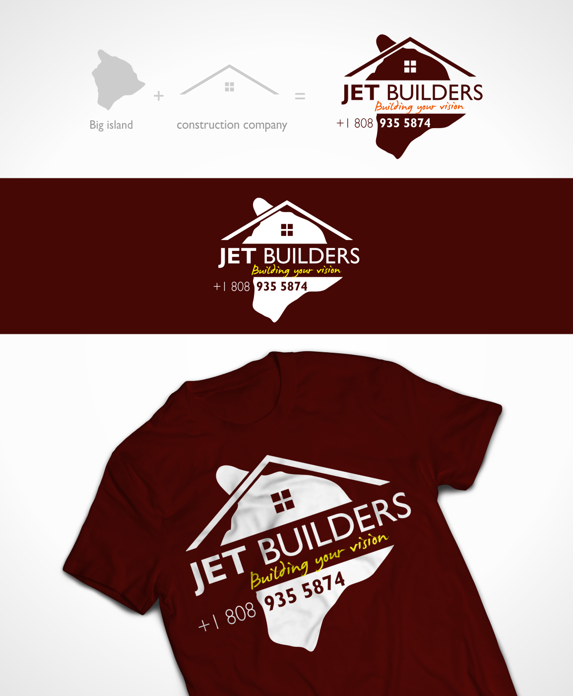Construction T Shirt Design For A Company In United States 3737484