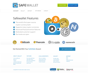 Web Design by Behriatech - Web design needed: Open-source crypto-currency ...