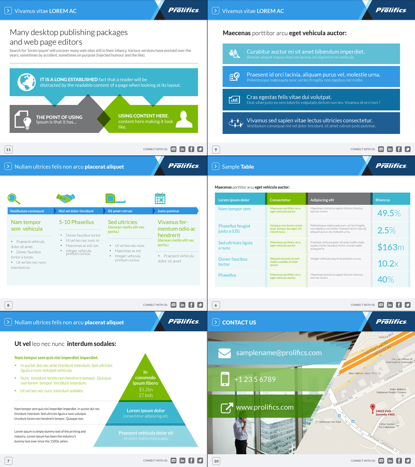 Corporate Powerpoint Design Template: 50 Upmarket Bold PowerPoint Designs For A Business In