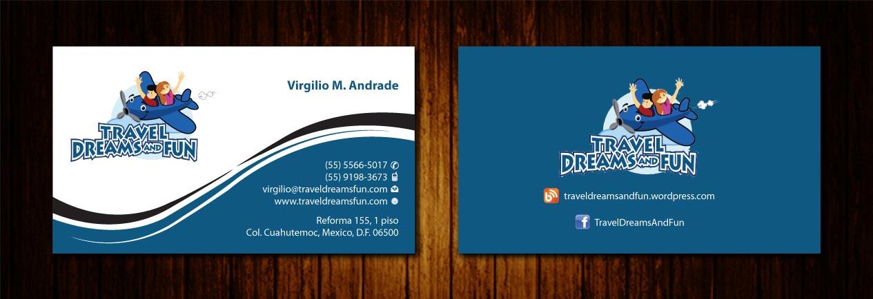 Enchanting Business Travel Cards Vignette - Business Card Ideas ...