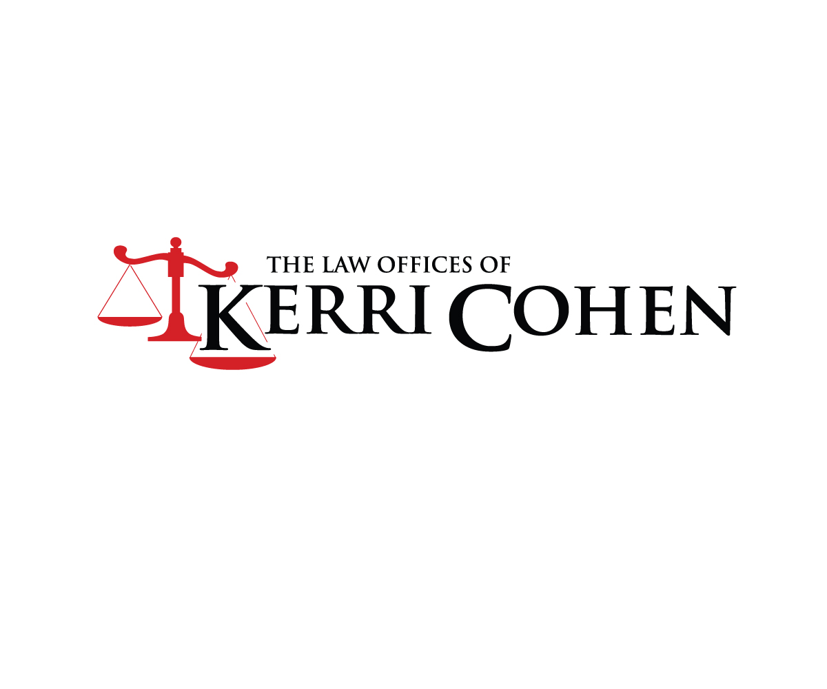 Serious, Modern Logo Design design for The Law Offices of Kerri Cohen ...