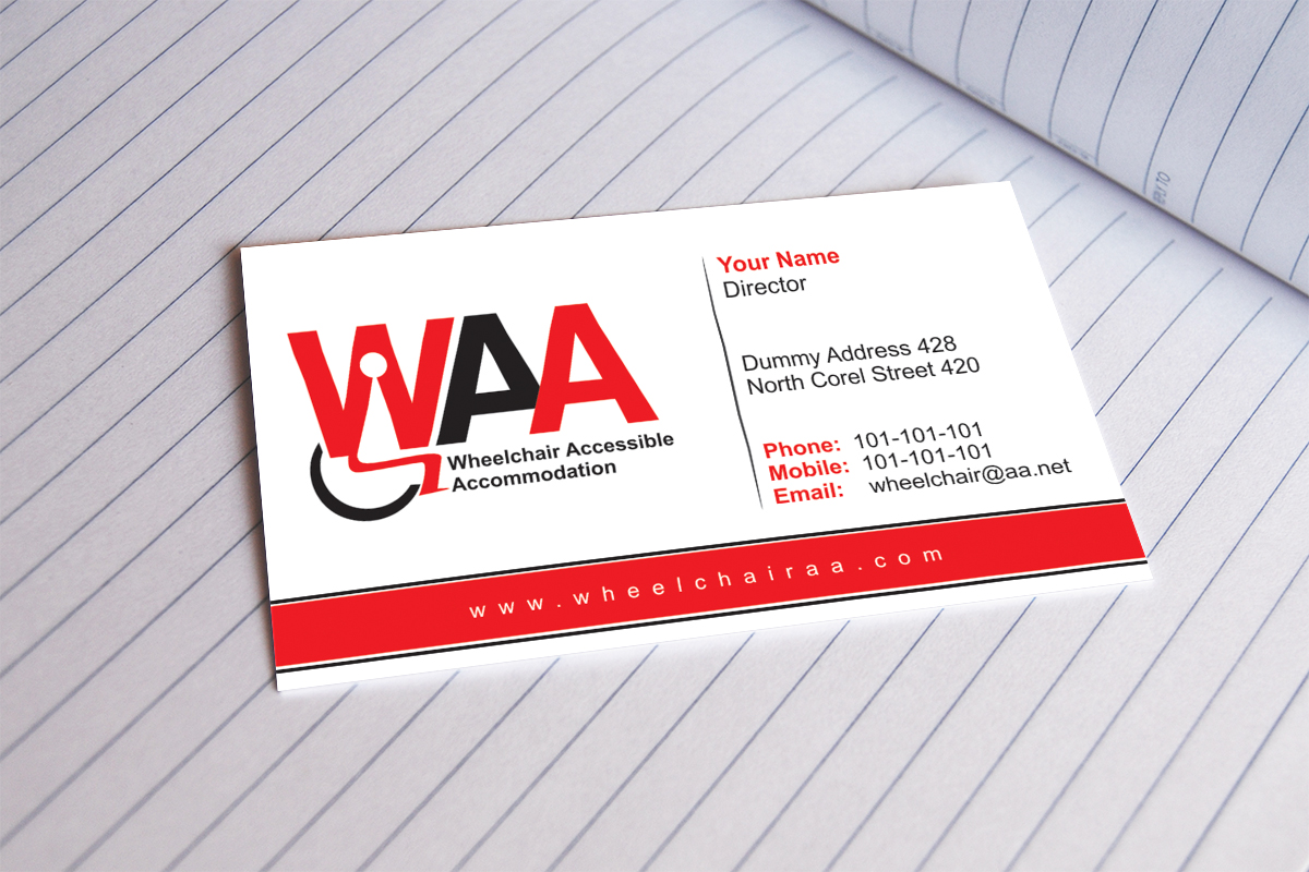 Accommodation Business Card Design for Balanced Books Pty Ltd by ...
