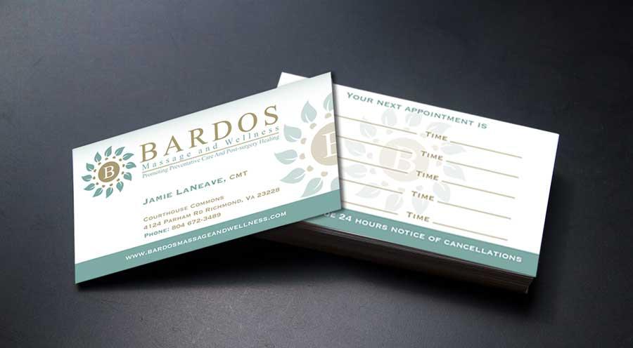 Business business card design for bardos massage and wellness by business business card design for bardos massage and wellness in united states design 3768697 reheart Images