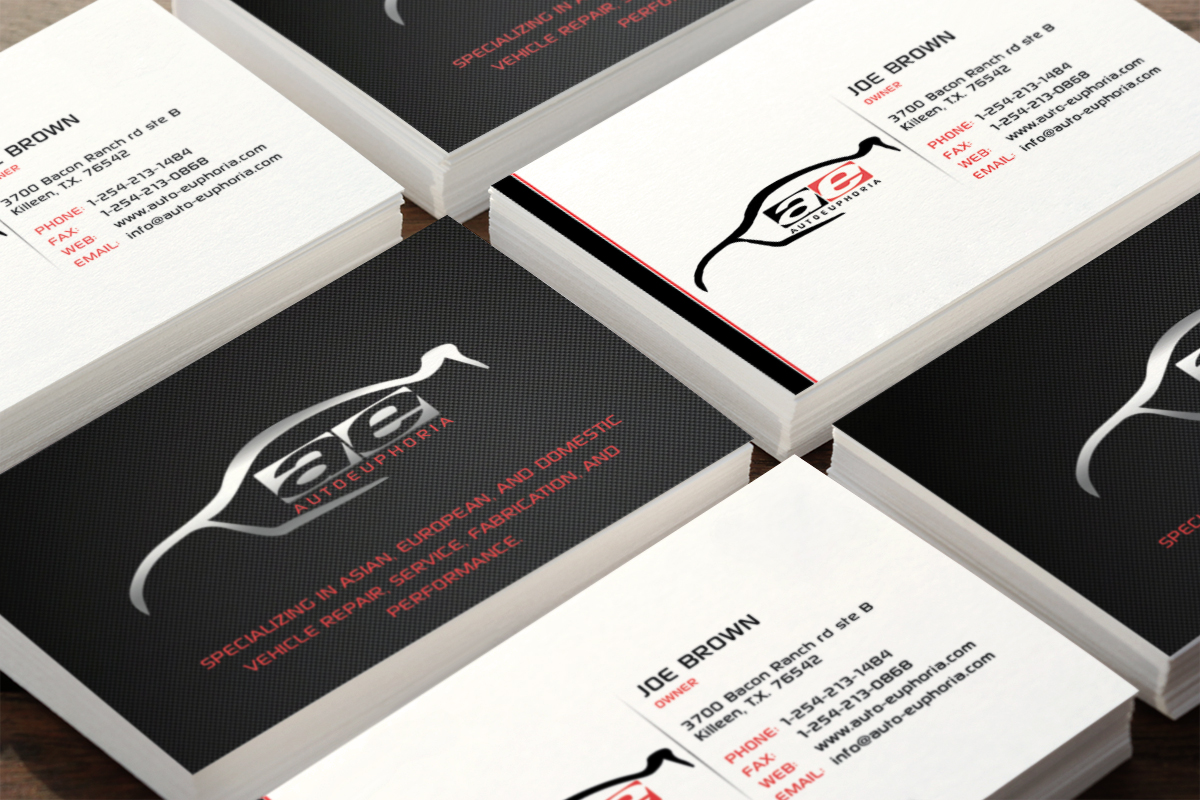 16 modern business card designs automotive business card design business card design by infinitedesign for this project design 3774402 reheart Images
