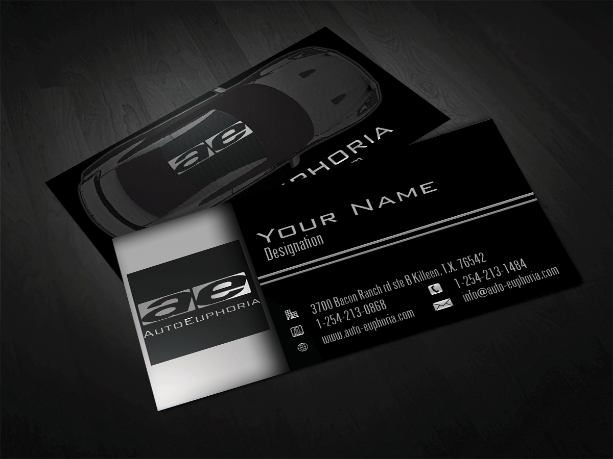 Modern professional automotive business card design for a company business card design by riz for this project design 3762925 reheart Choice Image