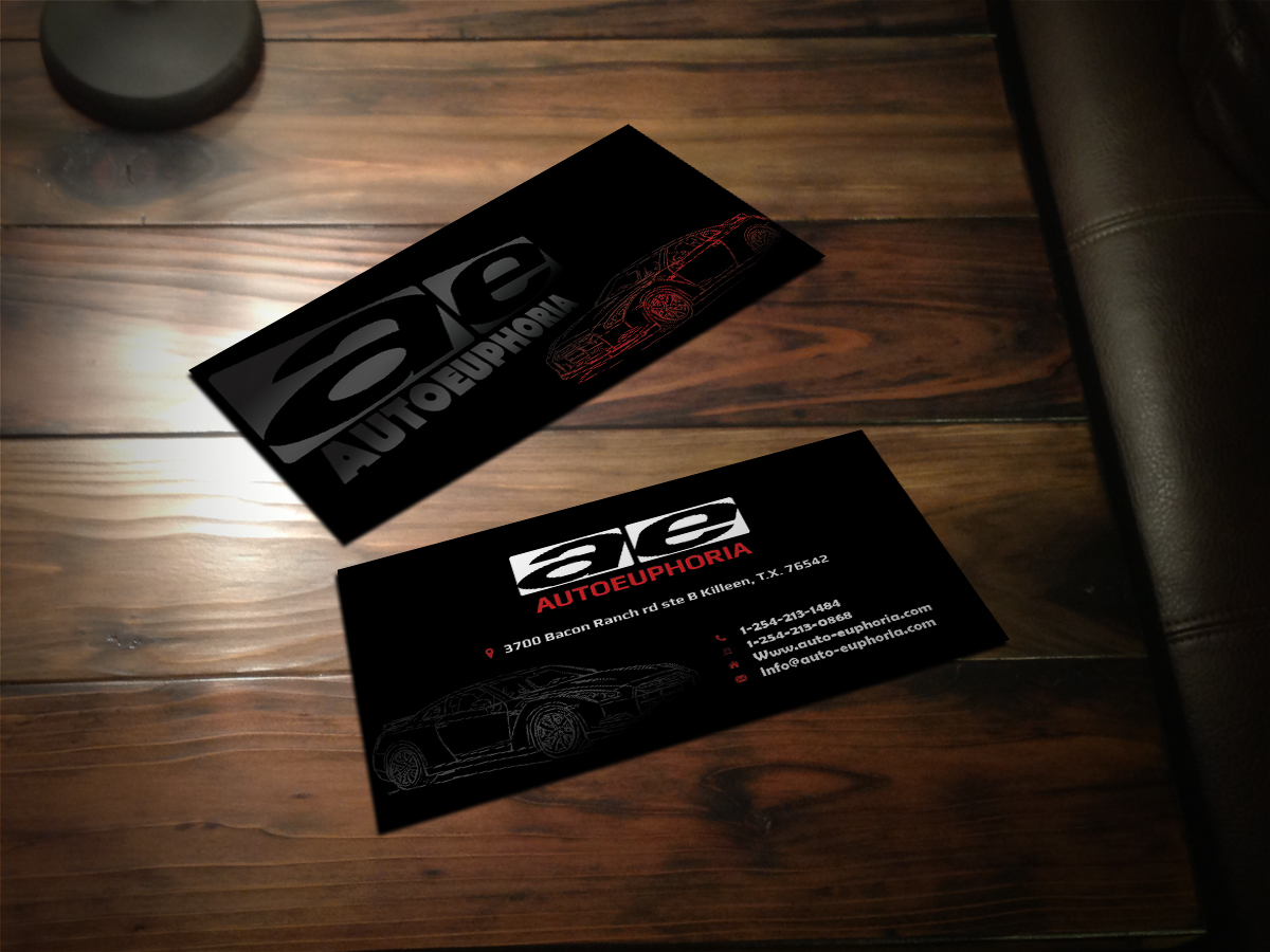 Modern professional automotive business card design for a company business card design by scorpius design for this project design 3764681 reheart Gallery