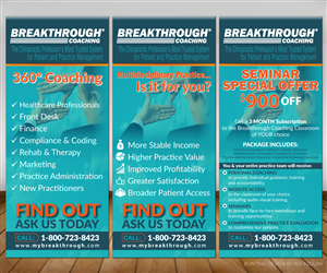 Graphic Design by adiazudin - Banner Designs Needed for Breakthrough Coaching