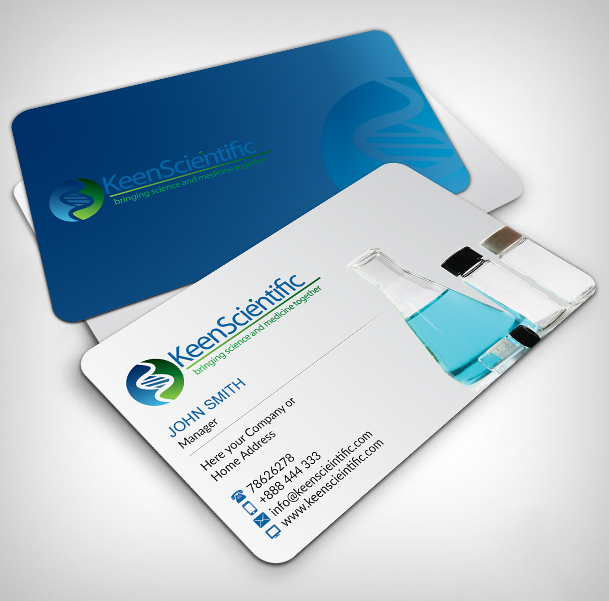 business card design by nuhanenterprise for andra blomkalns design 3831690 - Medical Business Cards