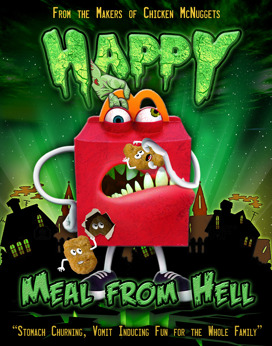 Graphic Design by HART Design Firm for Photoshop the scary new McDonald's mascot - 'Happy' - Design #3774297