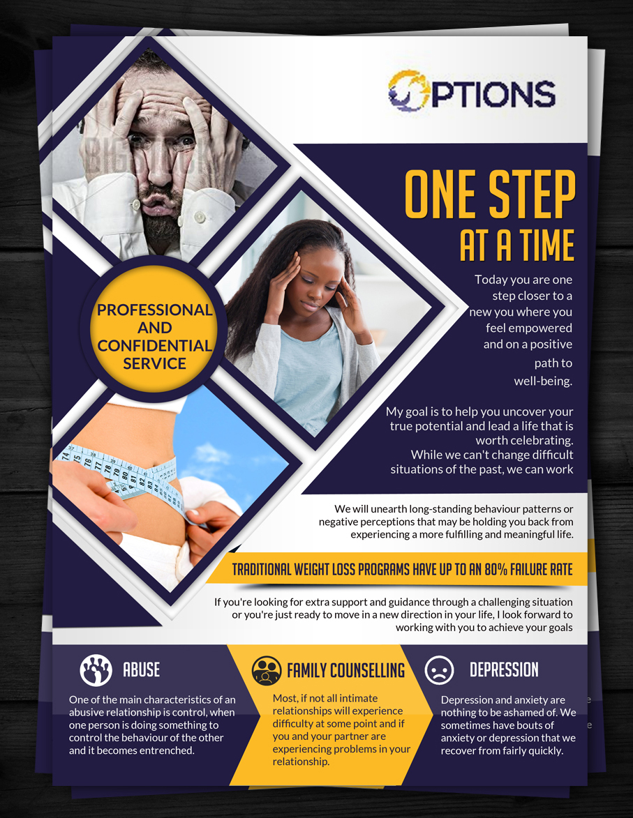 poster design for options counselling by esolz technologies - Poster Design Ideas