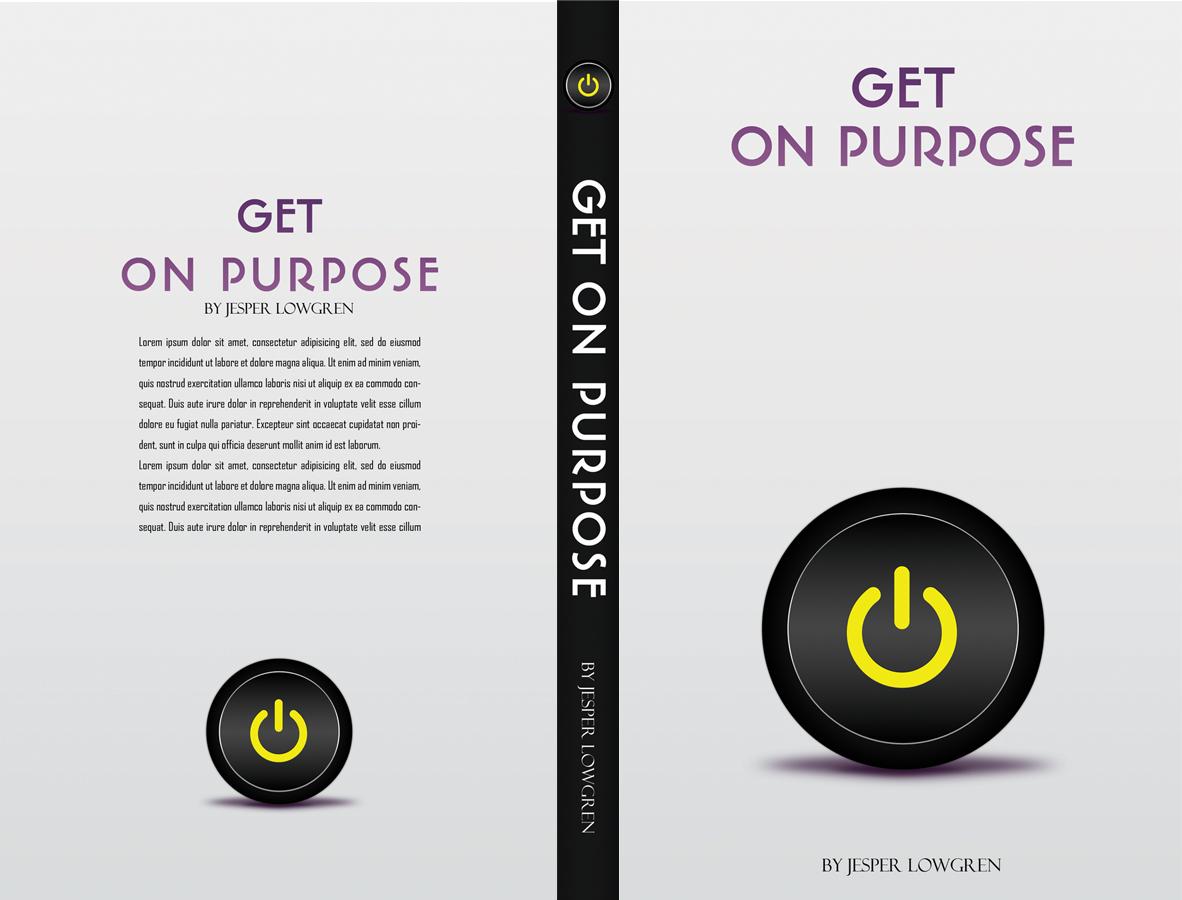 Book Cover Design App : Masculine upmarket book cover design for jesper