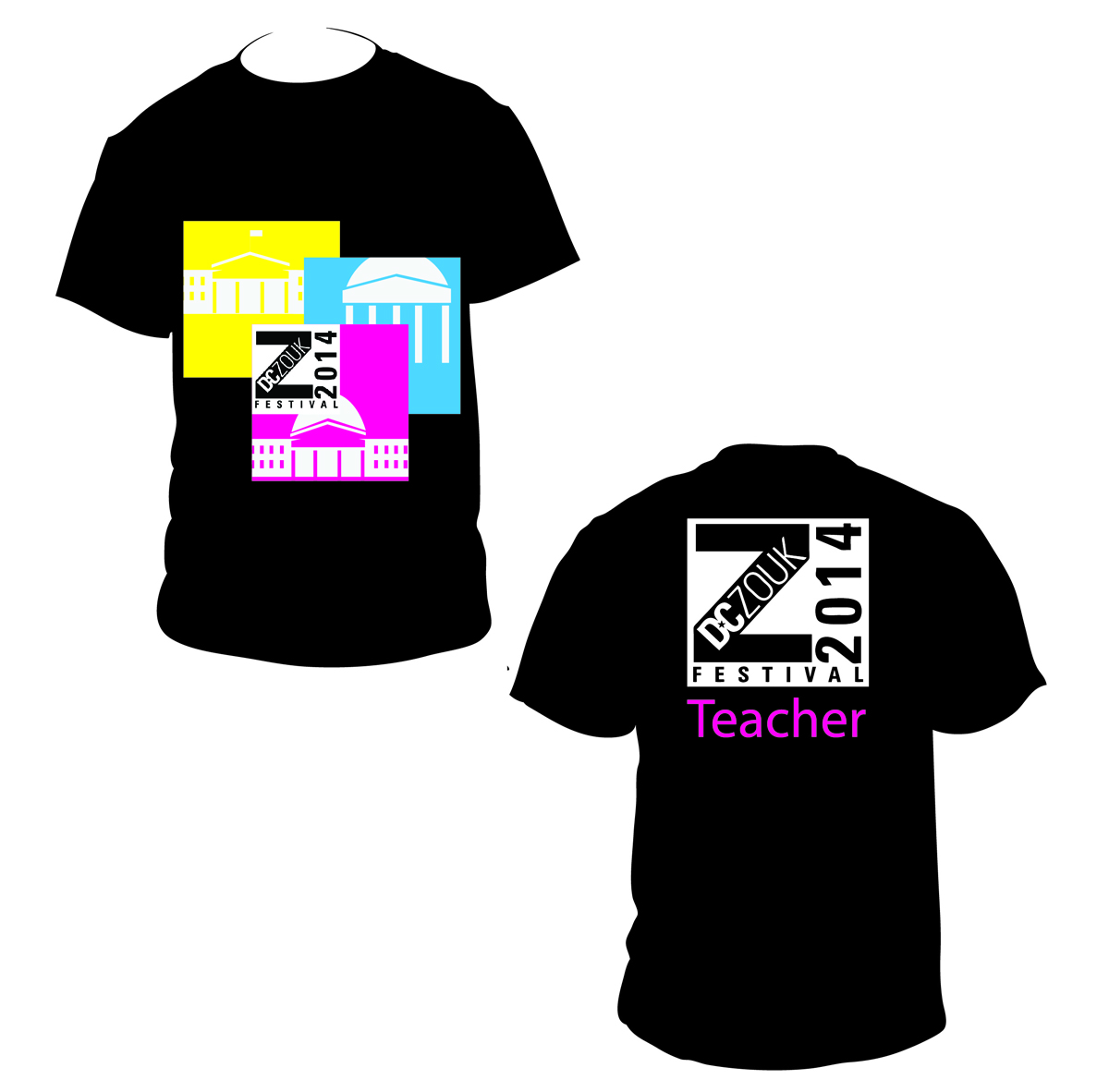 T shirt design for dczoukfestival by nadiac design 3774869 for Dc t shirt design