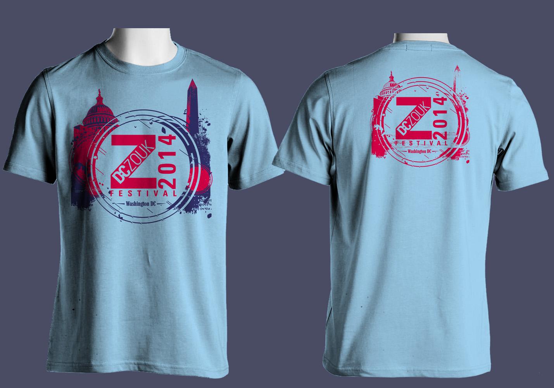 Festival t shirt design for dczoukfestival by grd21 for T shirt design festival