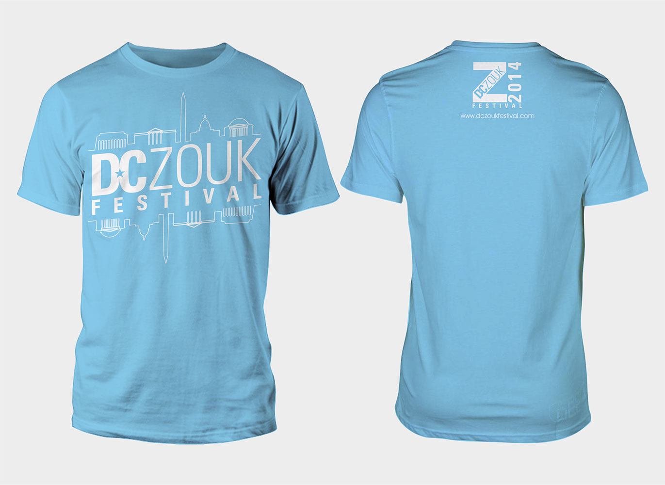 Festival t shirt design for dczoukfestival by 777sky for T shirt design festival