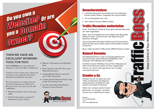 Brochure Design by DesignFive - Brochure Design for TrafficBoss.biz
