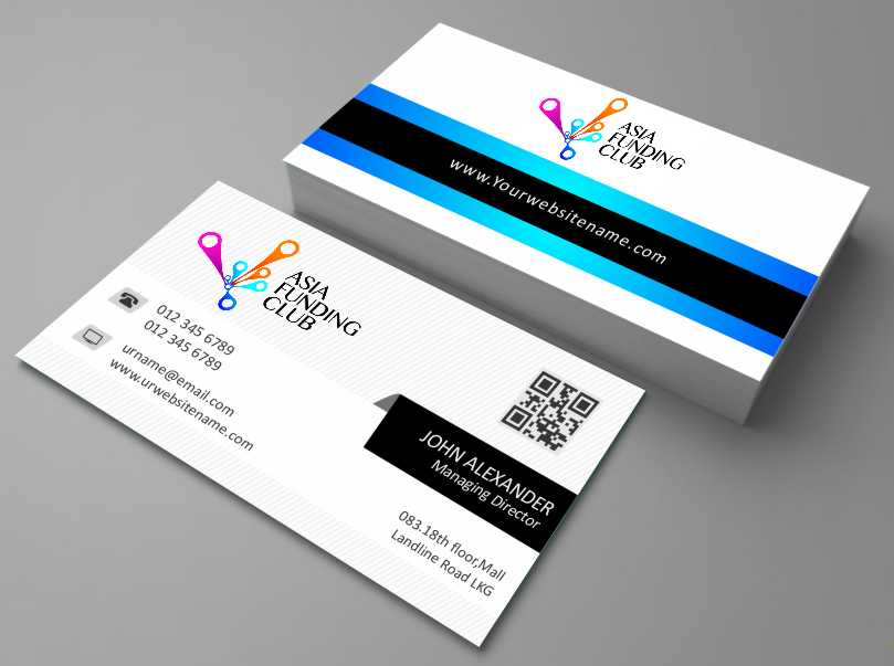 It Company Business Card Design for a Company by AwsomeD | Design ...