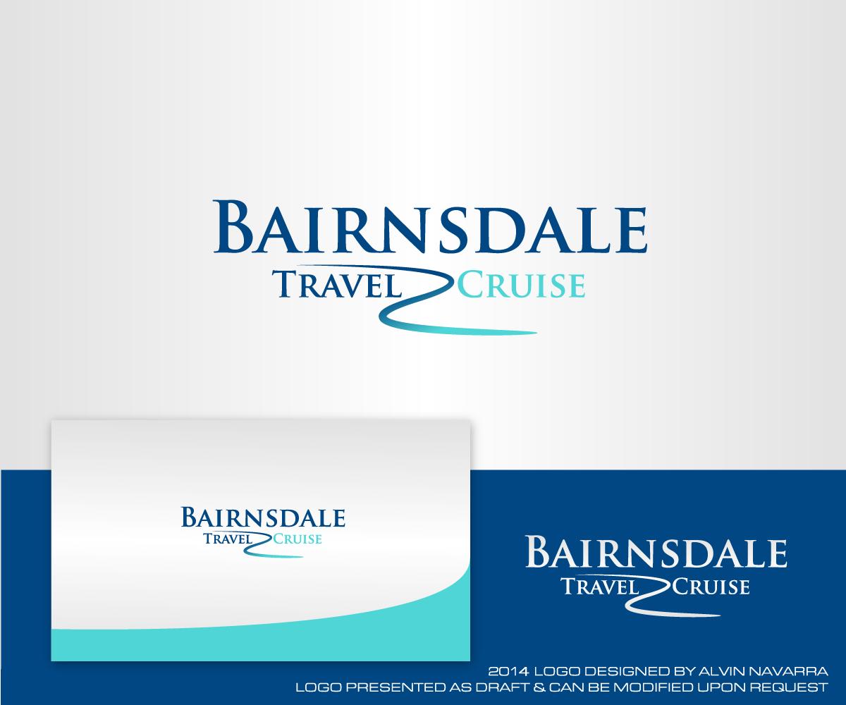 Travel Logo Design For Bairnsdale Travel Cruise By
