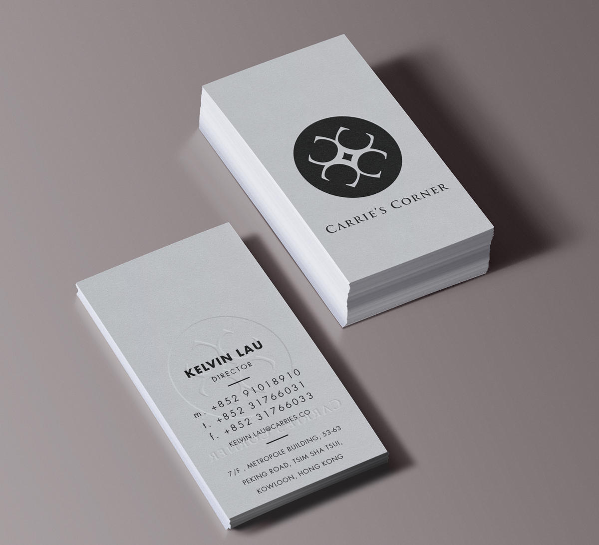 Elegant, Playful Business Card Design for MWS Diamonds and Gems Co ...
