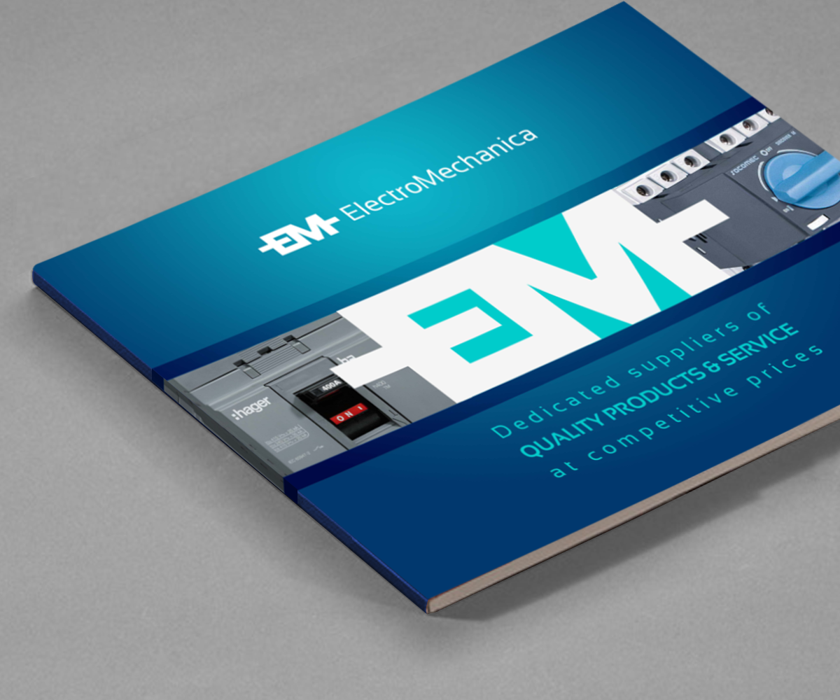 Serious, Professional, Electrical Catalogue Design for a Company by ...