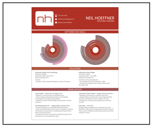 Resume Design by insultr