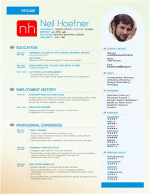 Resume Design by letsgoguru