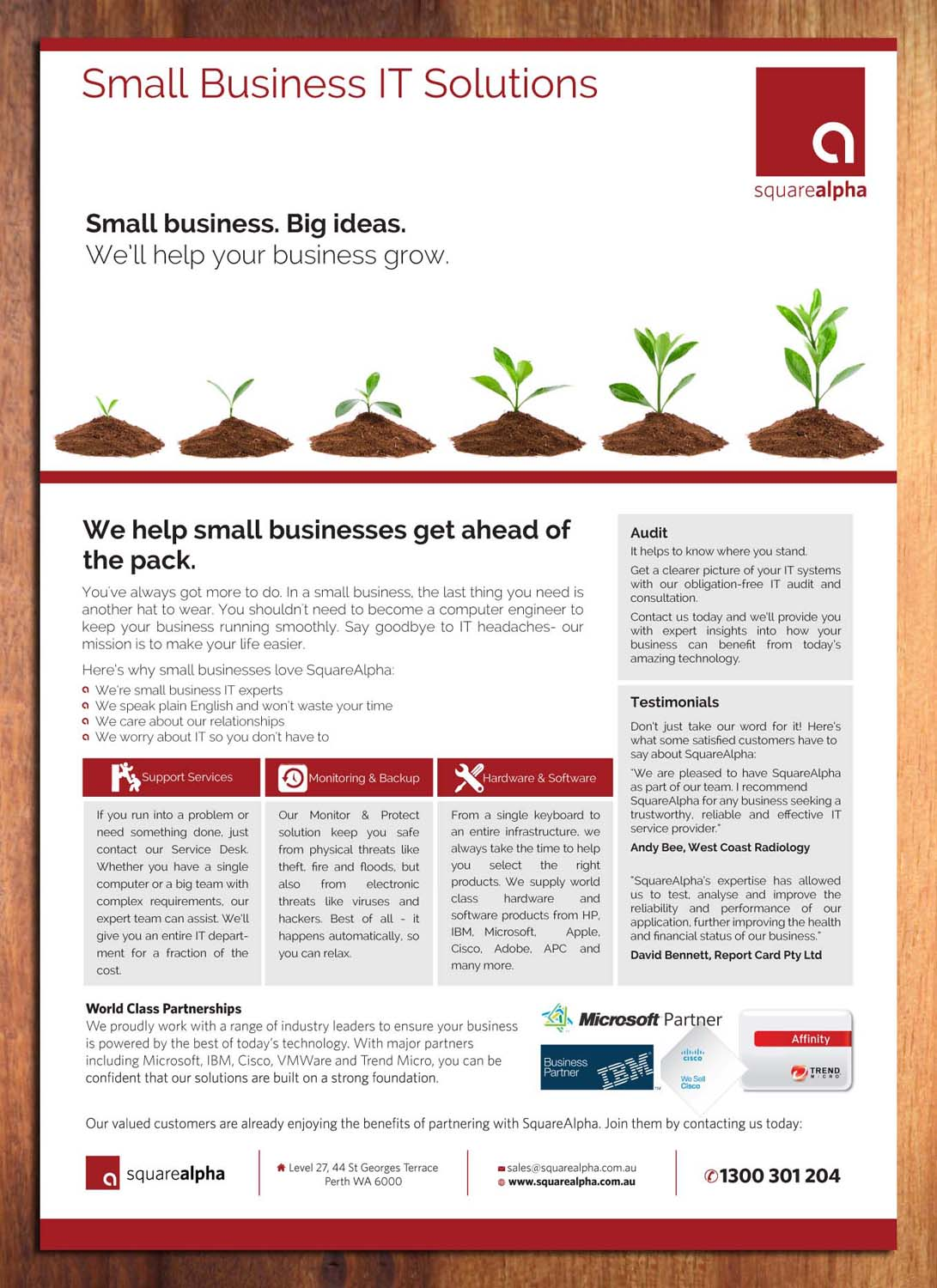 Small Business Flyer Design for SquareAlpha by Sbss | Design #3780150