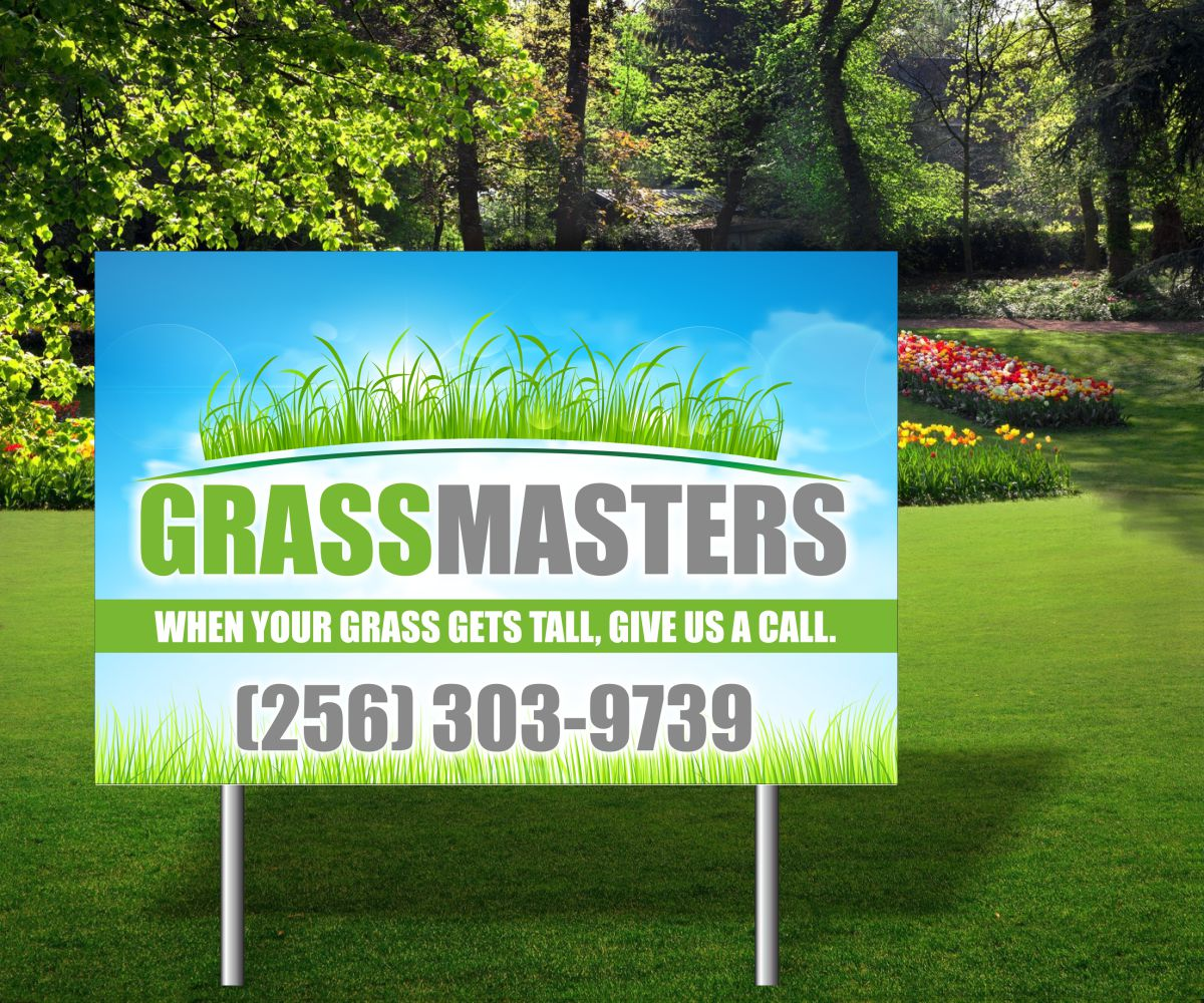 Landscape Commercial Sign: Business Signage Design For A Company By Maestroto