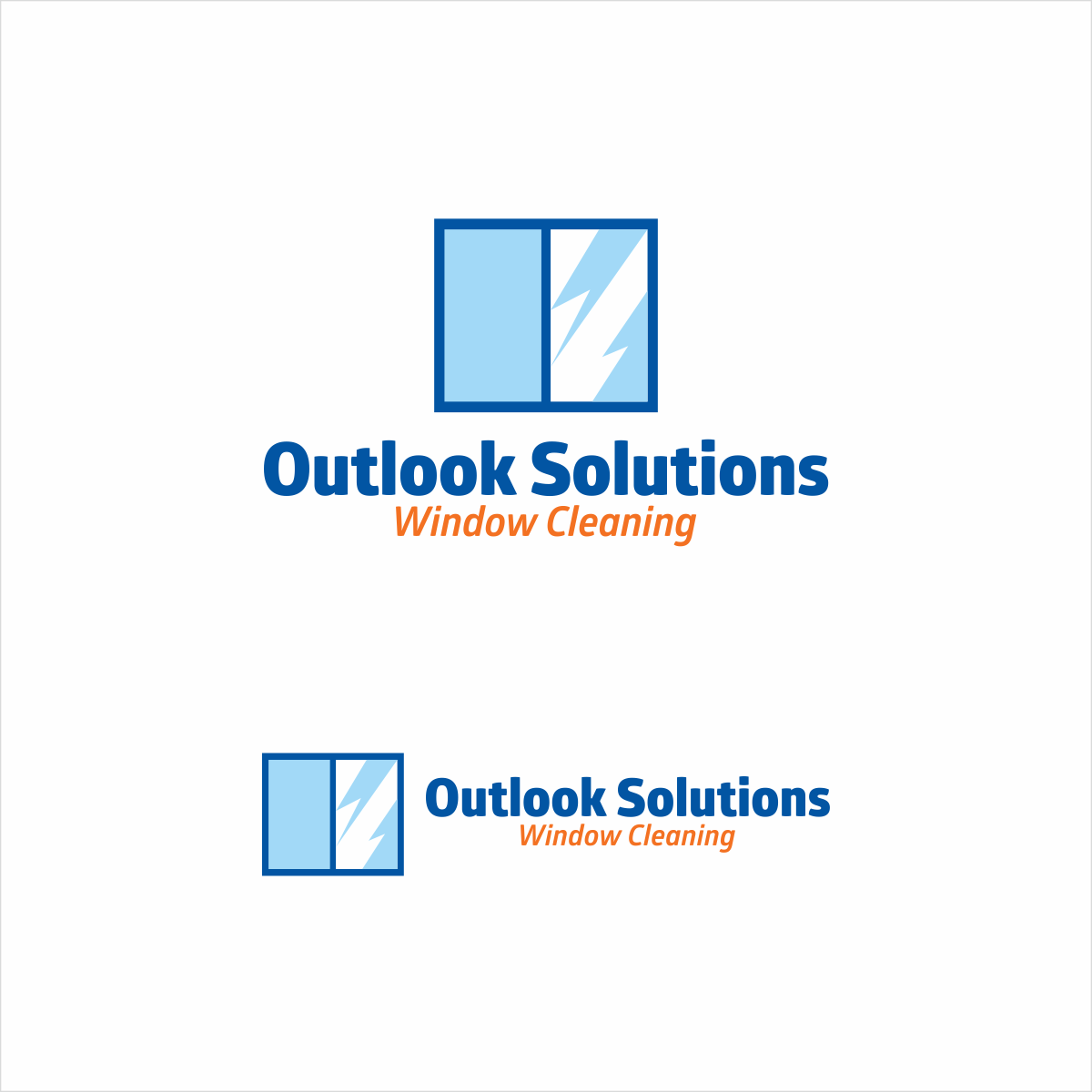 Bold professional window cleaning graphic design for for Window design solutions
