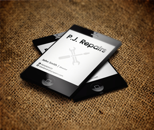 Cell phone business card design galleries for inspiration for Cell phone repair business cards