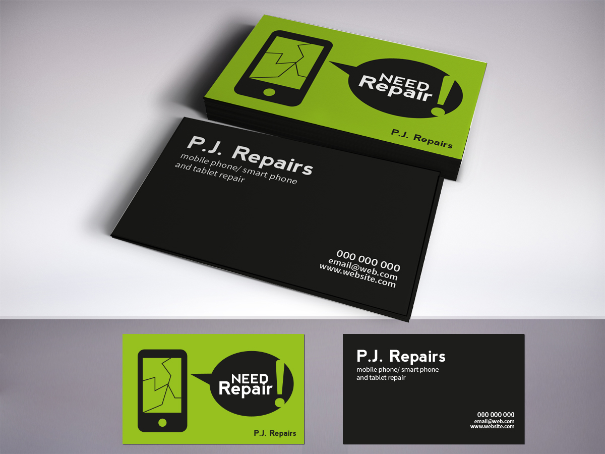 Business Card Design for Inflatablez by LR Design | Design #3833428