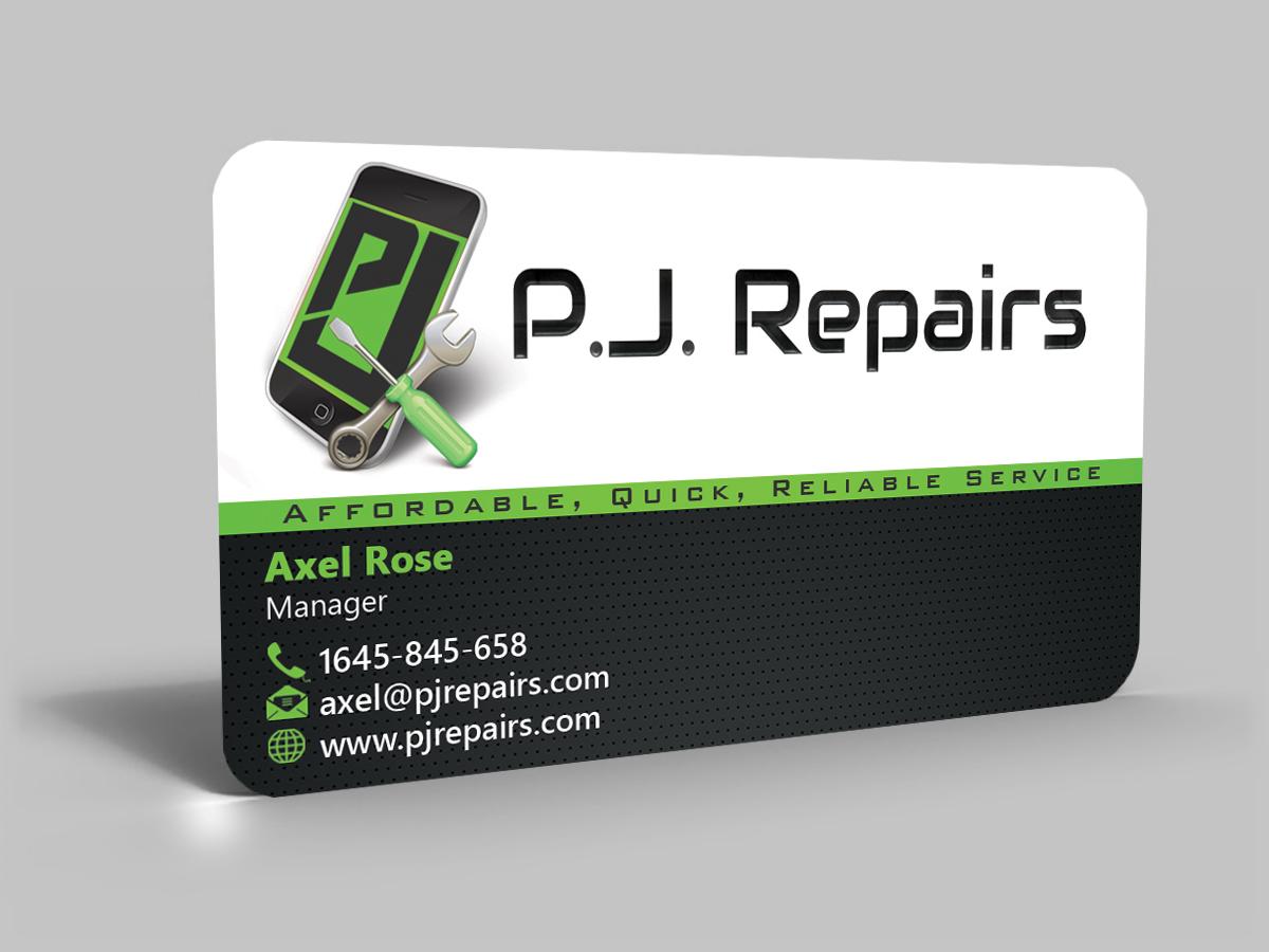 Phone Repair Business Card Phone Repair Business Card
