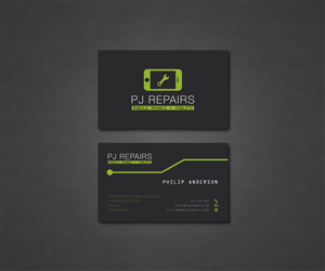 59 professional business business card designs for a for Cell phone repair business cards