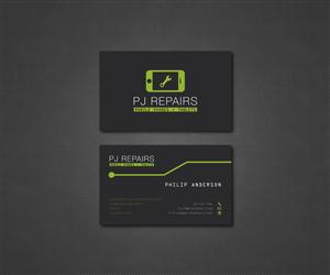 Phone repair business cards phone repair business card for Phone repair business card