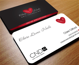 Beauty Salon Business Card Design Galleries for Inspiration