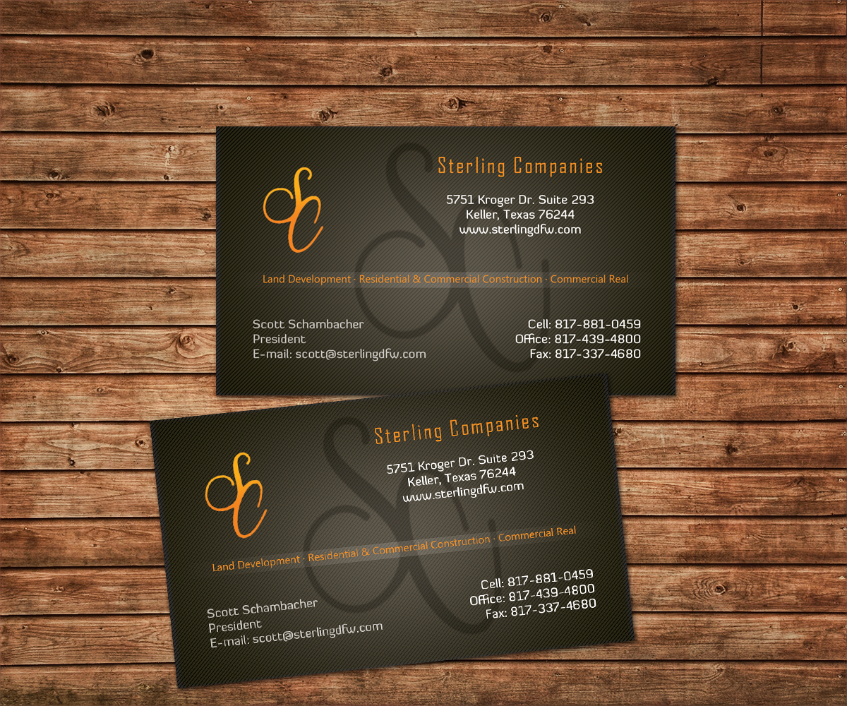 Residential business card design for a company by sagar more business card design by sagar more for this project design 3793212 reheart Image collections