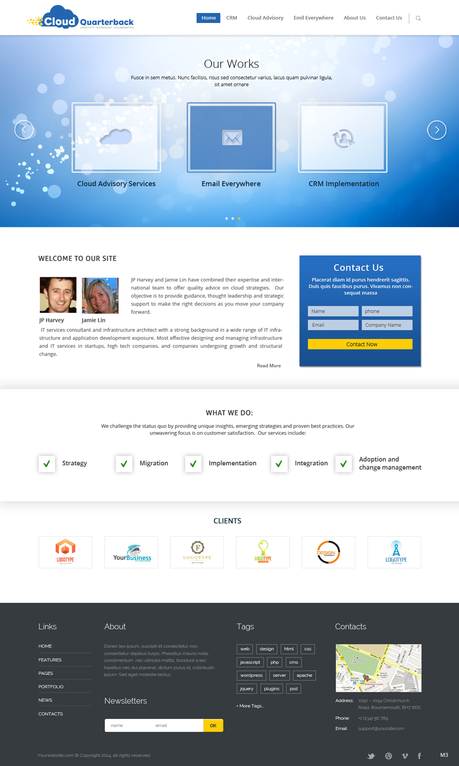 It Company Web Design For Remedy One By Pb Design 3787817