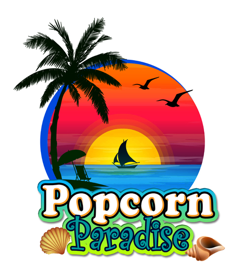 Logo Design By NeiH For Popcorn Paradise