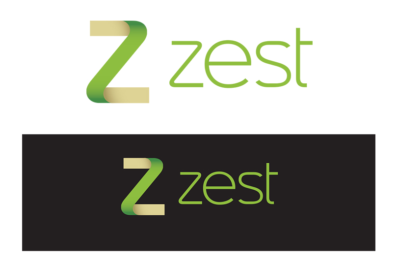 personal trainer logo design for zest personal training by
