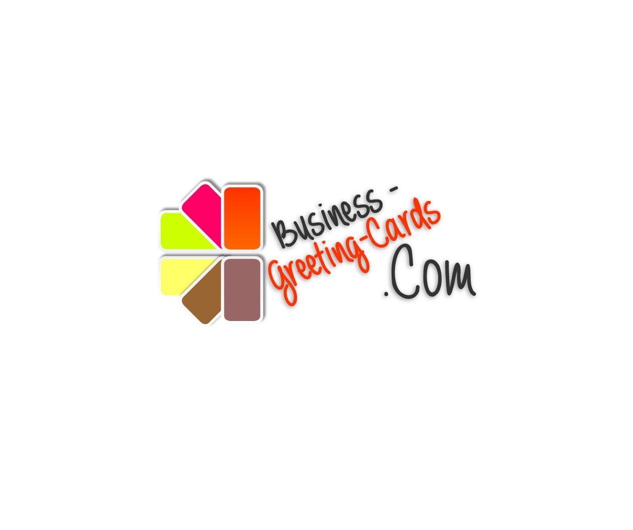 Elegant Playful Marketing Logo Design For Business Greeting Cards