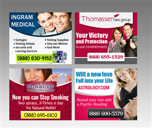 14 Bold Conservative Banner Ad Designs for a business in United States
