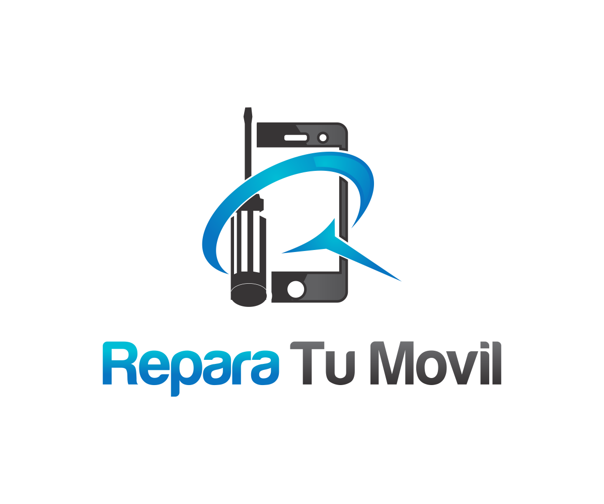 modern masculine it company logo design for repara tu