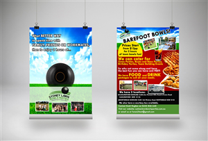 Flyer Design by M.A.R.K.  - Lawn Bowls Flyer