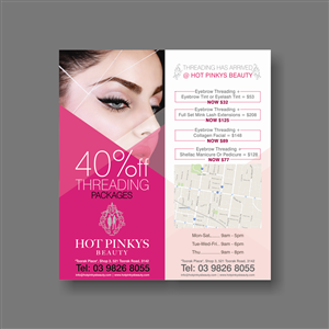 35 Elegant Playful Hair Flyer Designs for a Hair business in Australia