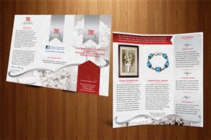 Brochure Design by Tünde Nagy - Tri-Fold Brochure Redesign for Floral Preservat ...