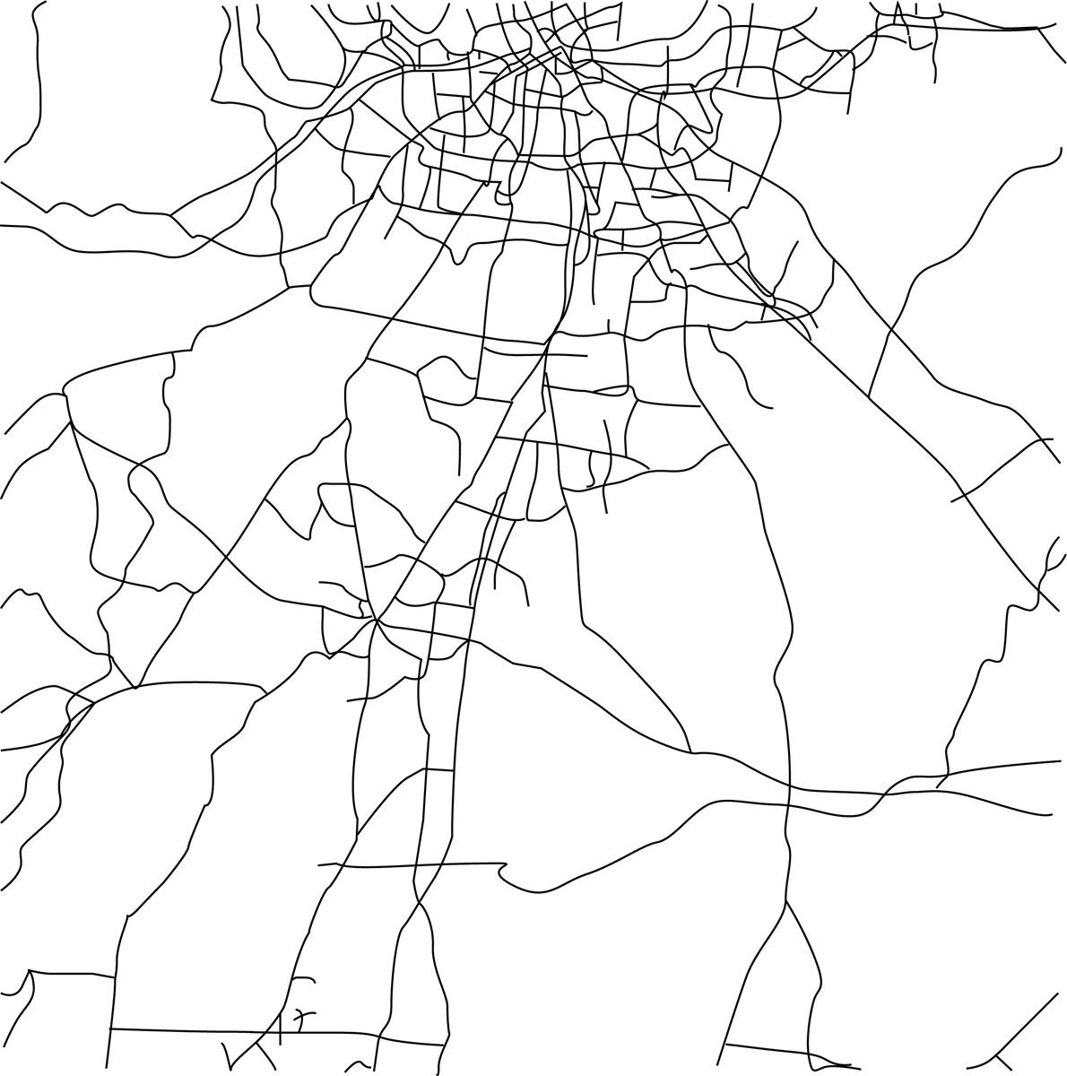 Vector Design By Faith Peach For Nashville Map Design 3820538