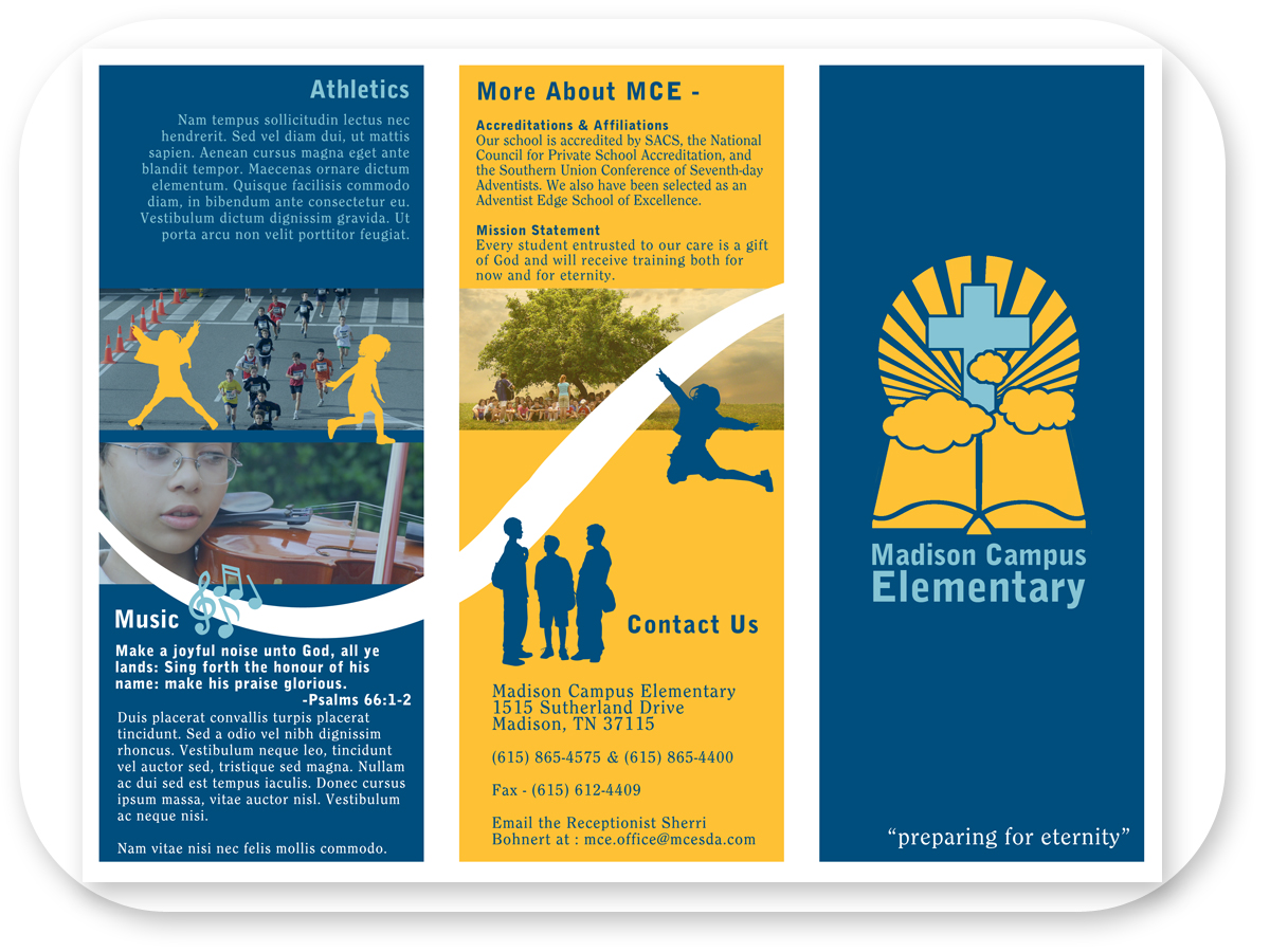 Brochure Design by Bri Williams-Powell for Private Elementary School needs Brochure - Design #131942