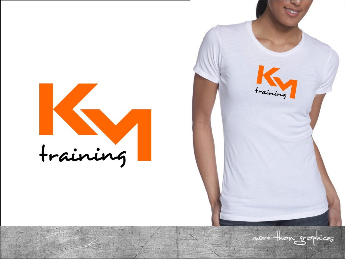K M Designs marketing logo design for km or kmt by vladst2004 design