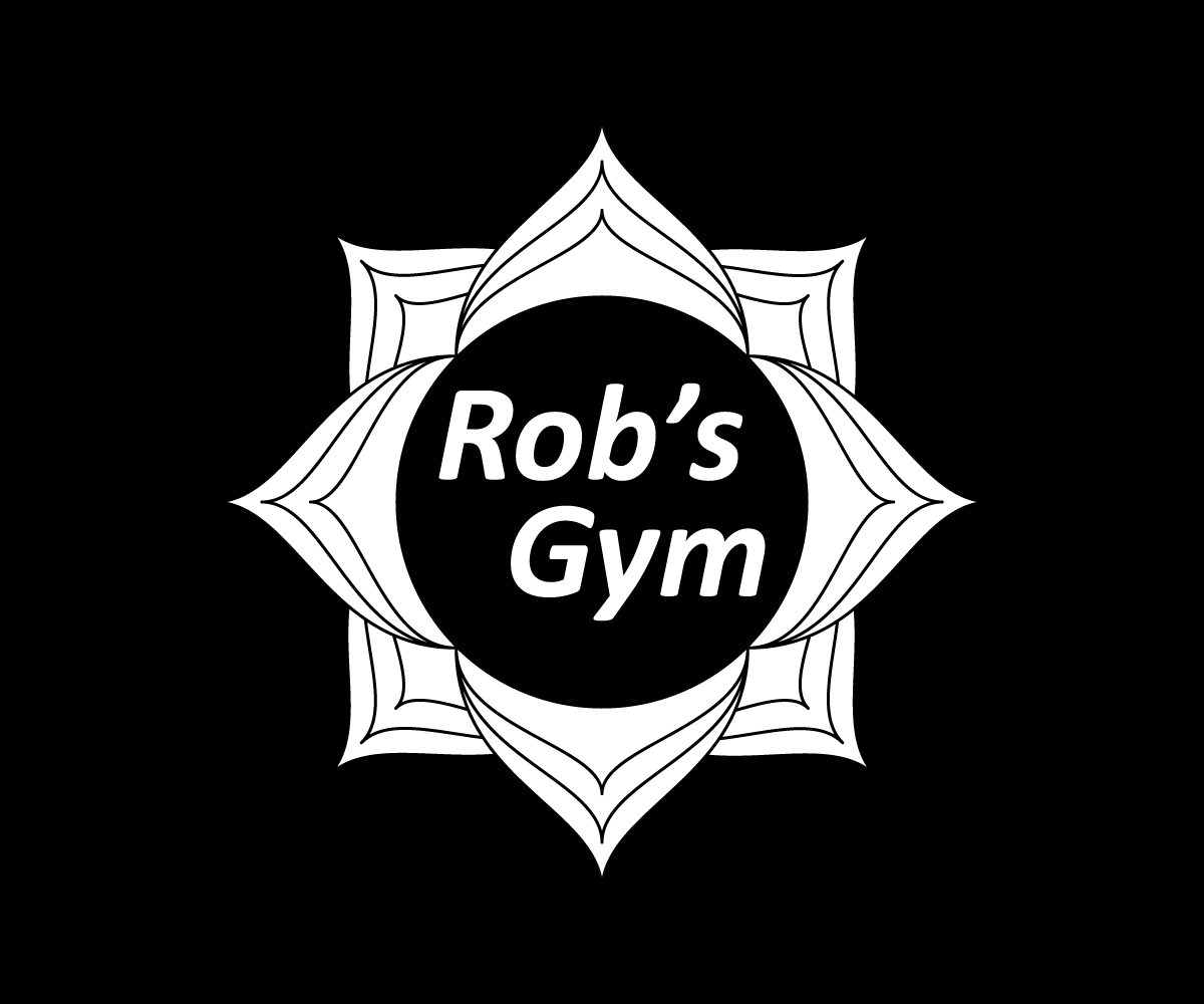 Bold modern garage logo design for rob s gym by younus